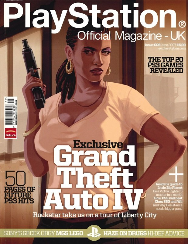 Playstation Official Magazine UK 006 (June 2007)