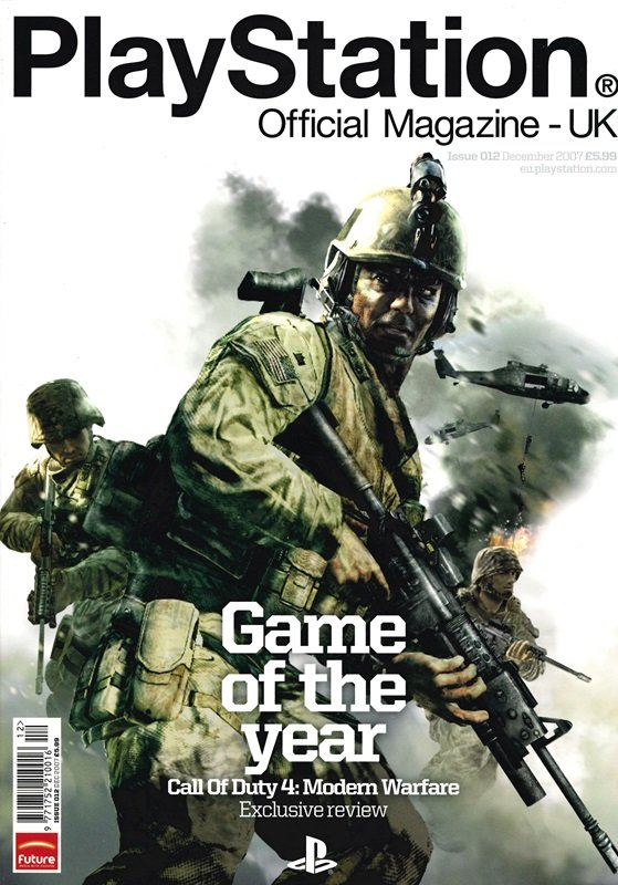 Playstation Official Magazine UK 012 (December 2007)