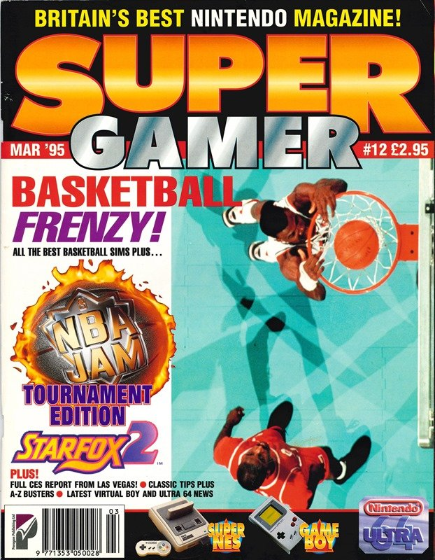 Super Gamer Issue 12 (March 1995)
