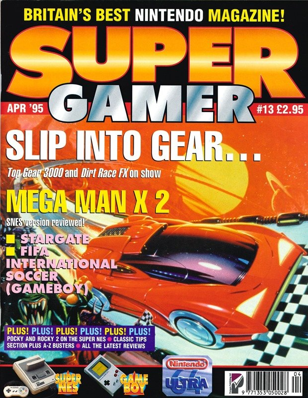 Super Gamer Issue 13 (April 1995)