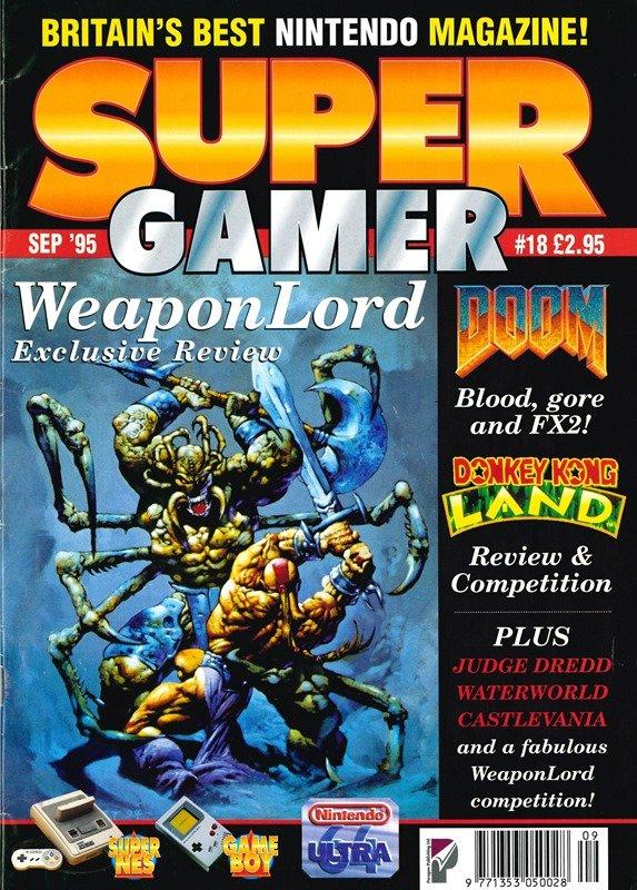 Super Gamer Issue 18 (September 1995)