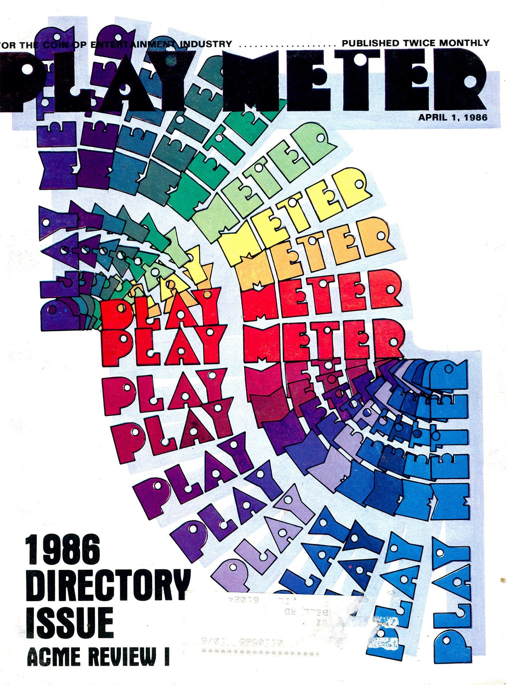 Play Meter Vol.12 No.5 (April 1, 1986)