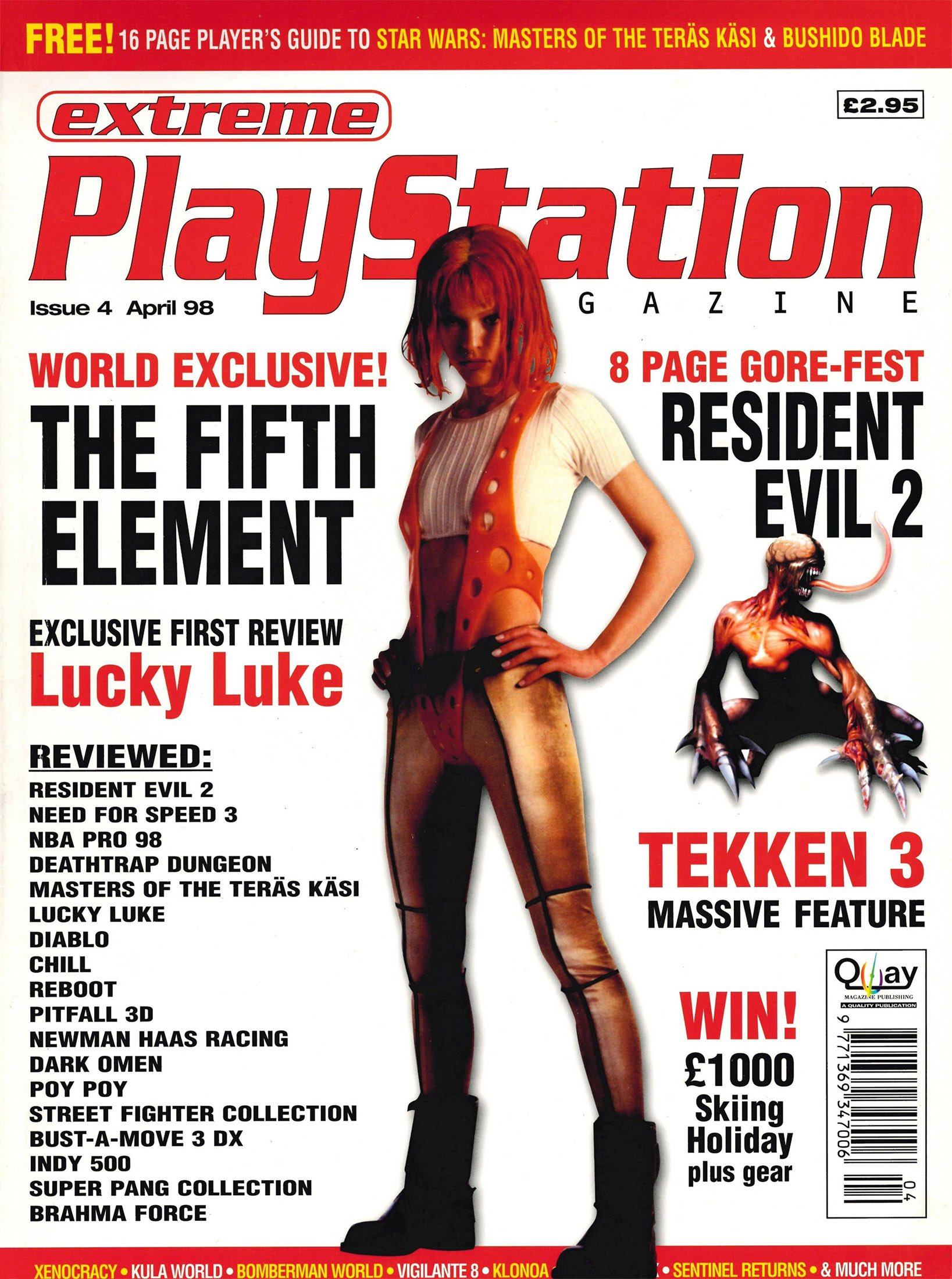 Extreme Playstation Issue 04 (April 1998)