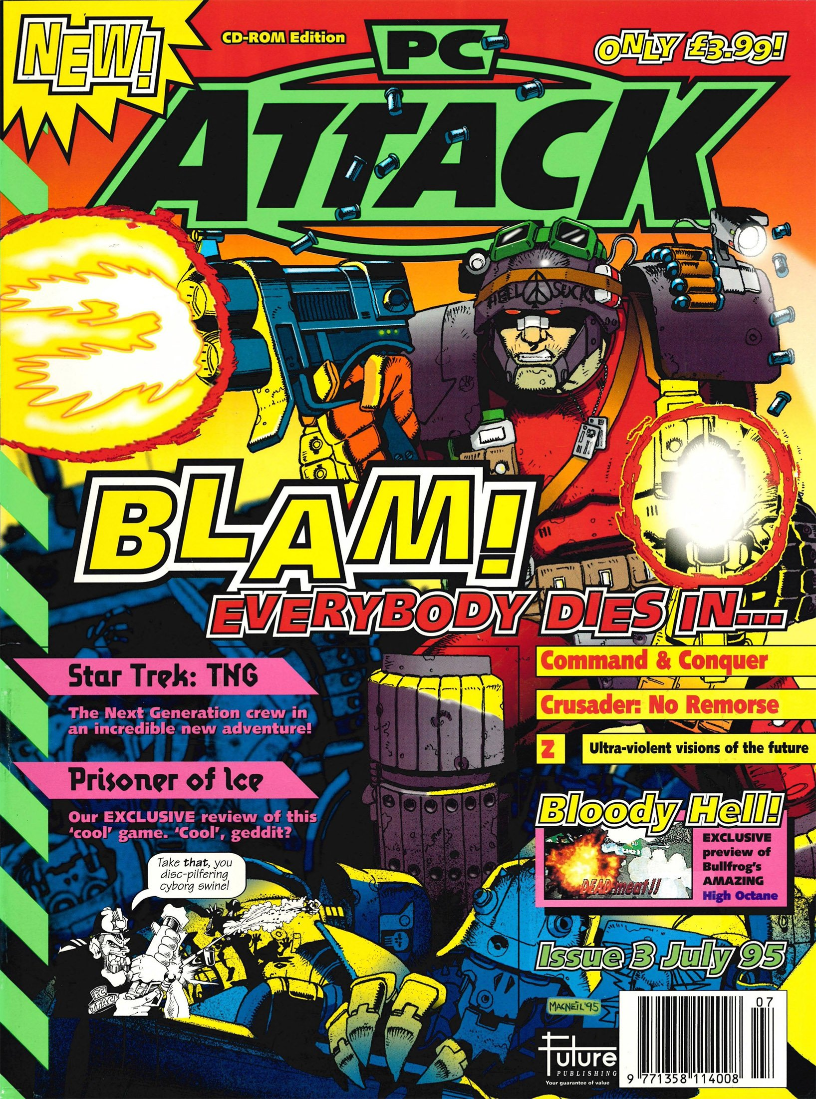 PC Attack Issue 03 (July 1995)