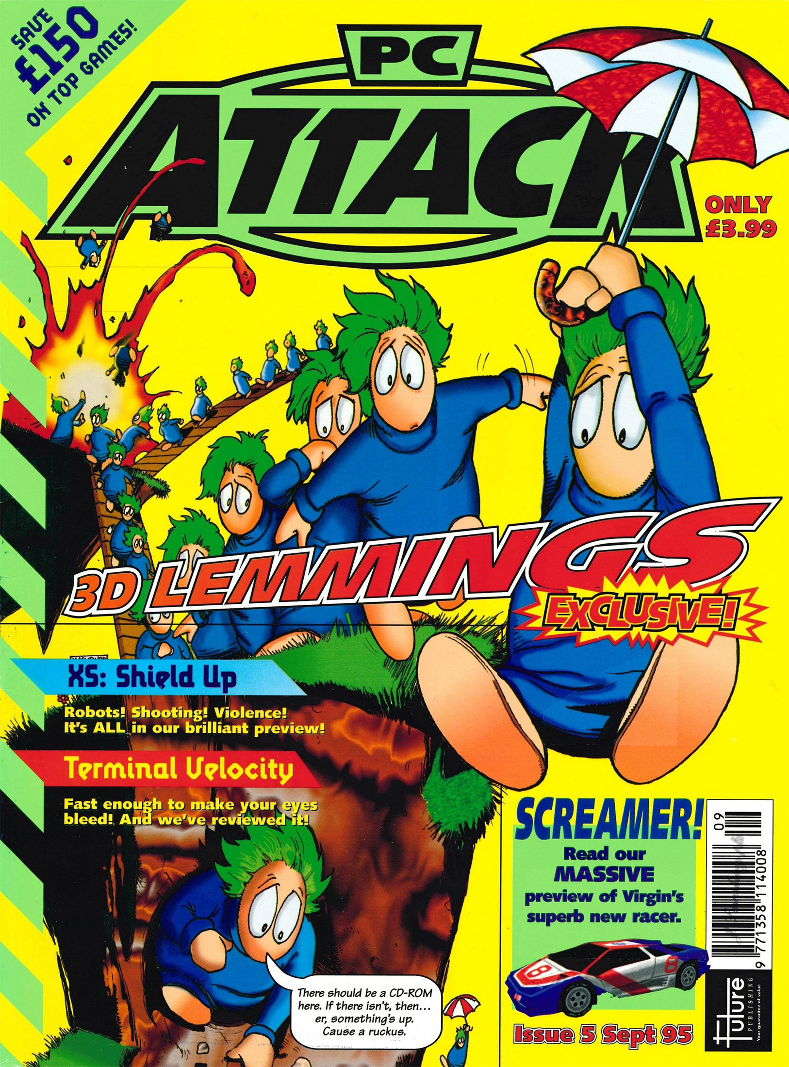 PC Attack Issue 05 (September 1995)