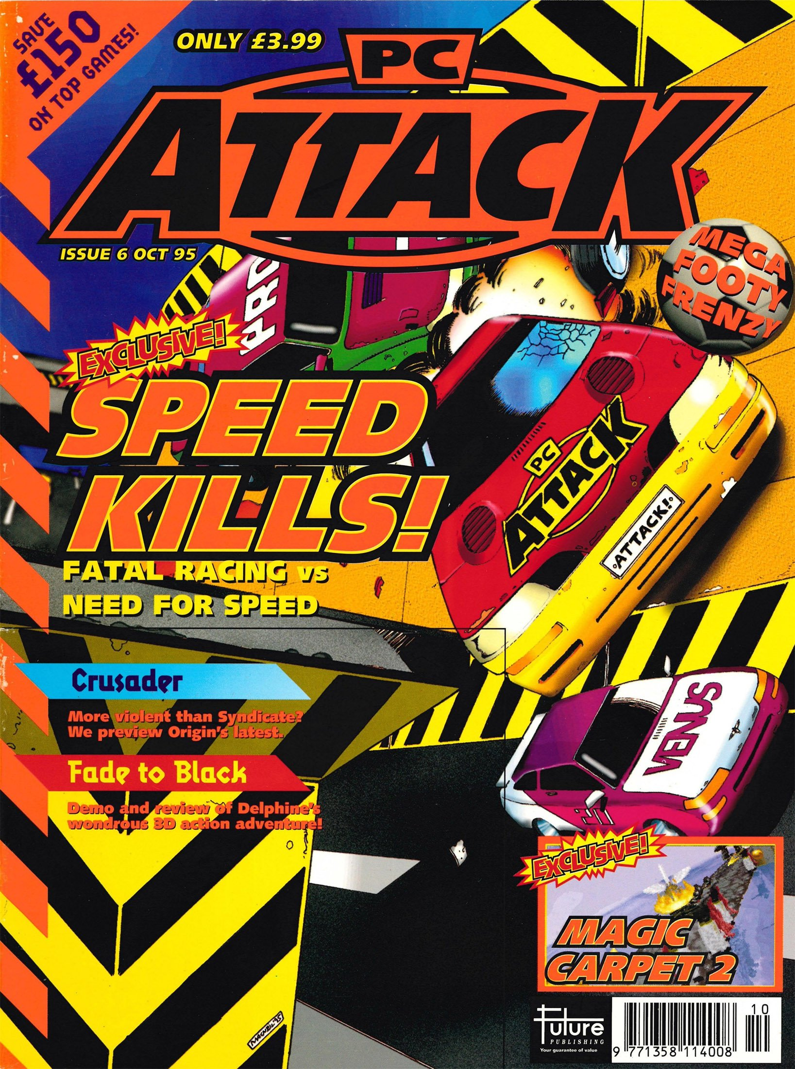 PC Attack Issue 06 (October 1995)