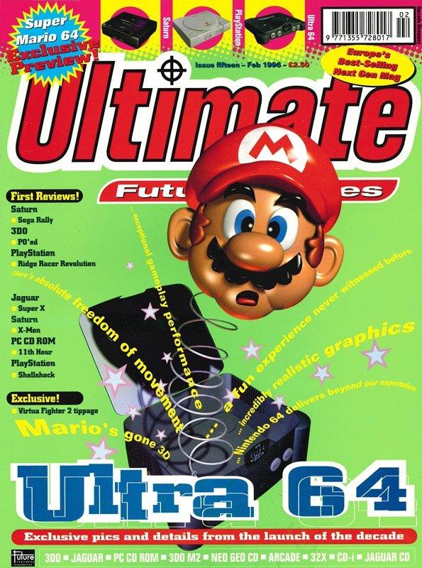 Ultimate Future Games 15 (February 1996)