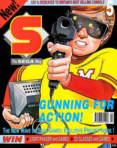 S: The Sega Magazine Issue 05 (April 1990)