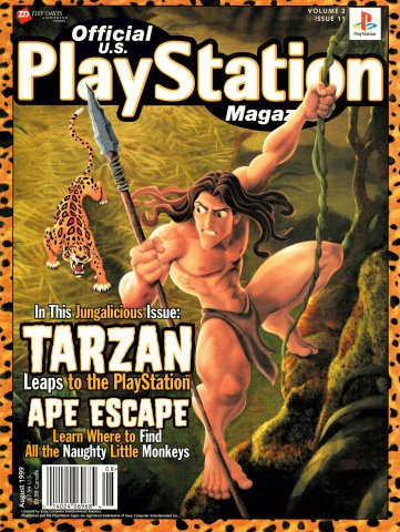 Official U.S. PlayStation Magazine Issue 023 (August 1999)