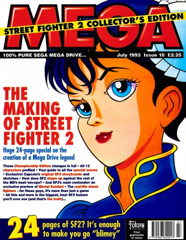 MEGA Issue 10 (July 1993)