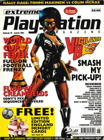 Extreme Playstation Issue 06 (June 1998)