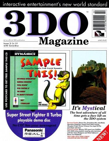 3DO Magazine UK Issue 02 (February 1995)