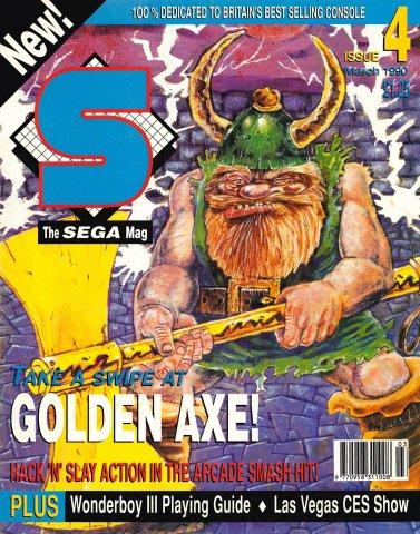 S: The Sega Magazine Issue 04 (March 1990)