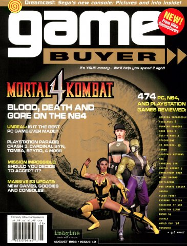 Game Buyer Issue 2 August 1998