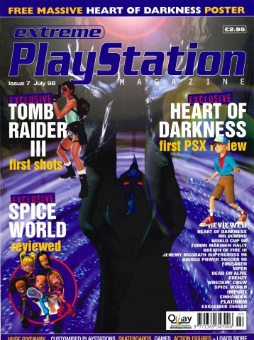 Extreme Playstation Issue 07 (July 1998)