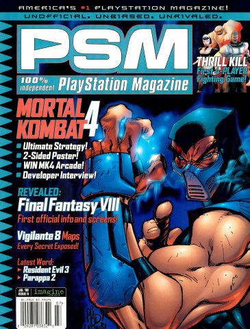 PSM Issue 011 (July 1998) Alternative Cover