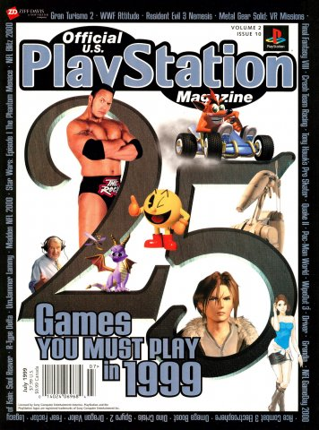 Official U.S. PlayStation Magazine Issue 022 (July 1999)