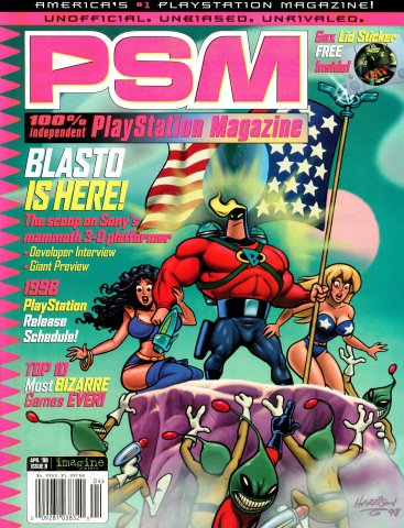 PSM Issue 008 April 1998