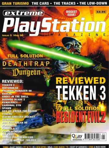 Extreme Playstation Issue 05 (May 1998)