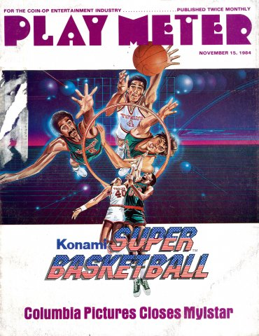 Play Meter Vol.10 No.21 (November 15, 1984)