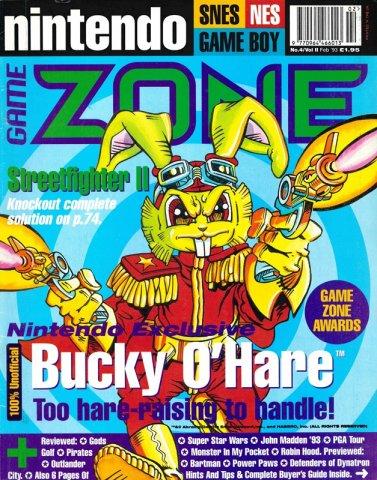 Nintendo Game Zone Issue 04 (February 1993)