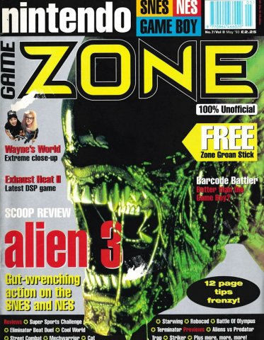Nintendo Game Zone Issue 07 (May 1993)