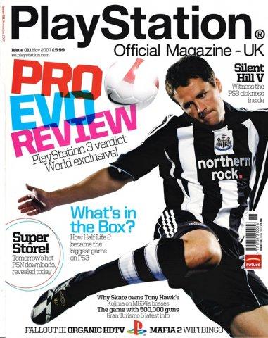 Playstation Official Magazine UK 011 (Novemeber 2007)