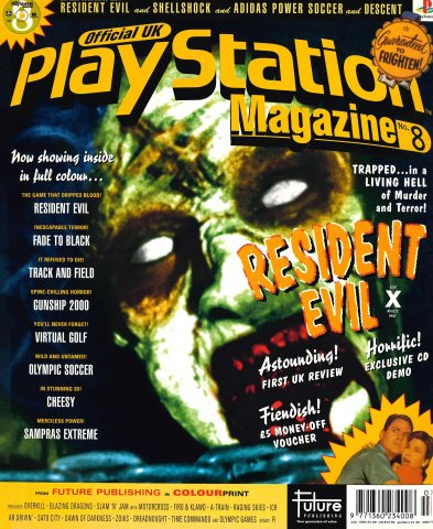 Official UK PlayStation Magazine Issue 008 (July 1996)