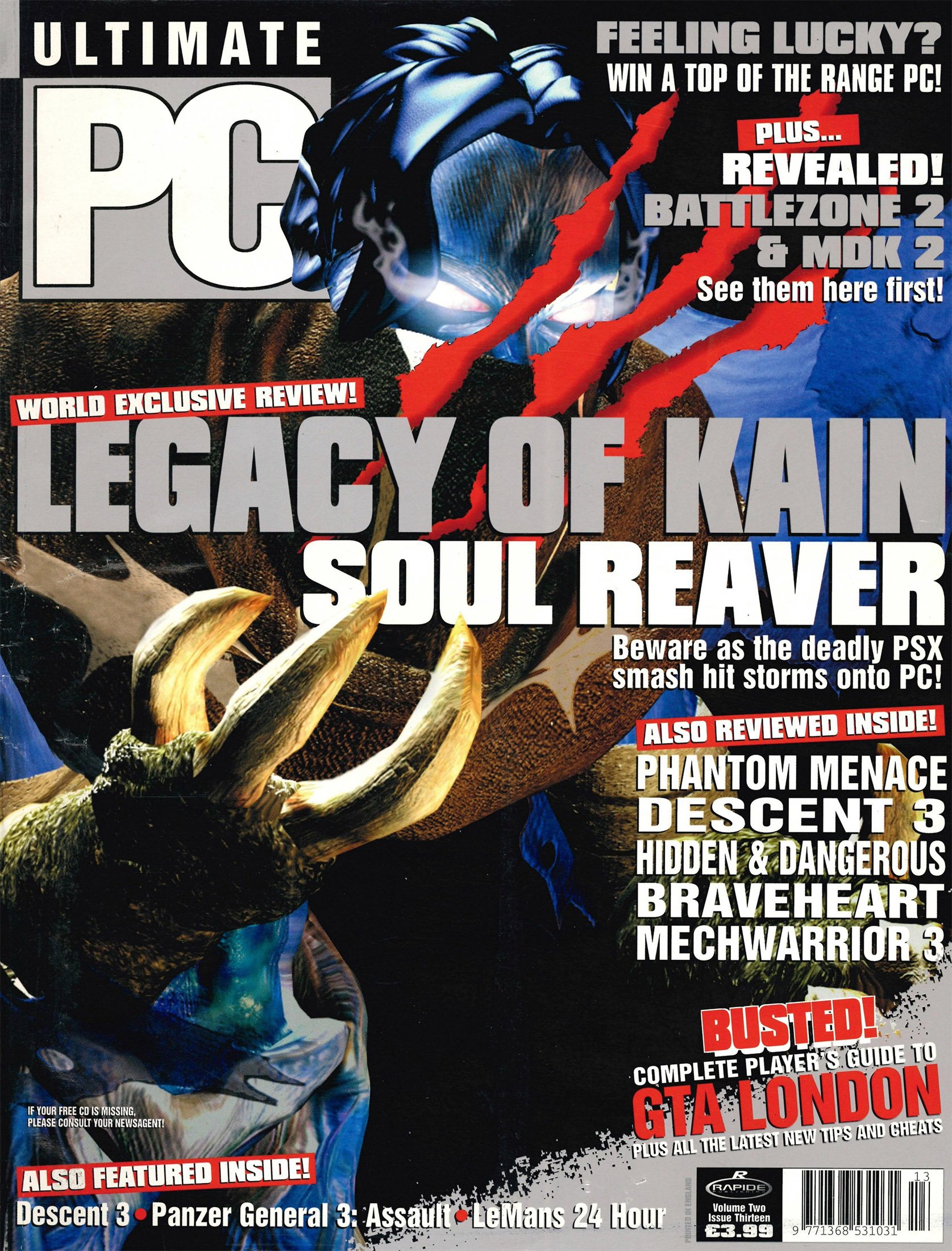 Ultimate PC Volume 2 Issue 13 (August 1999)