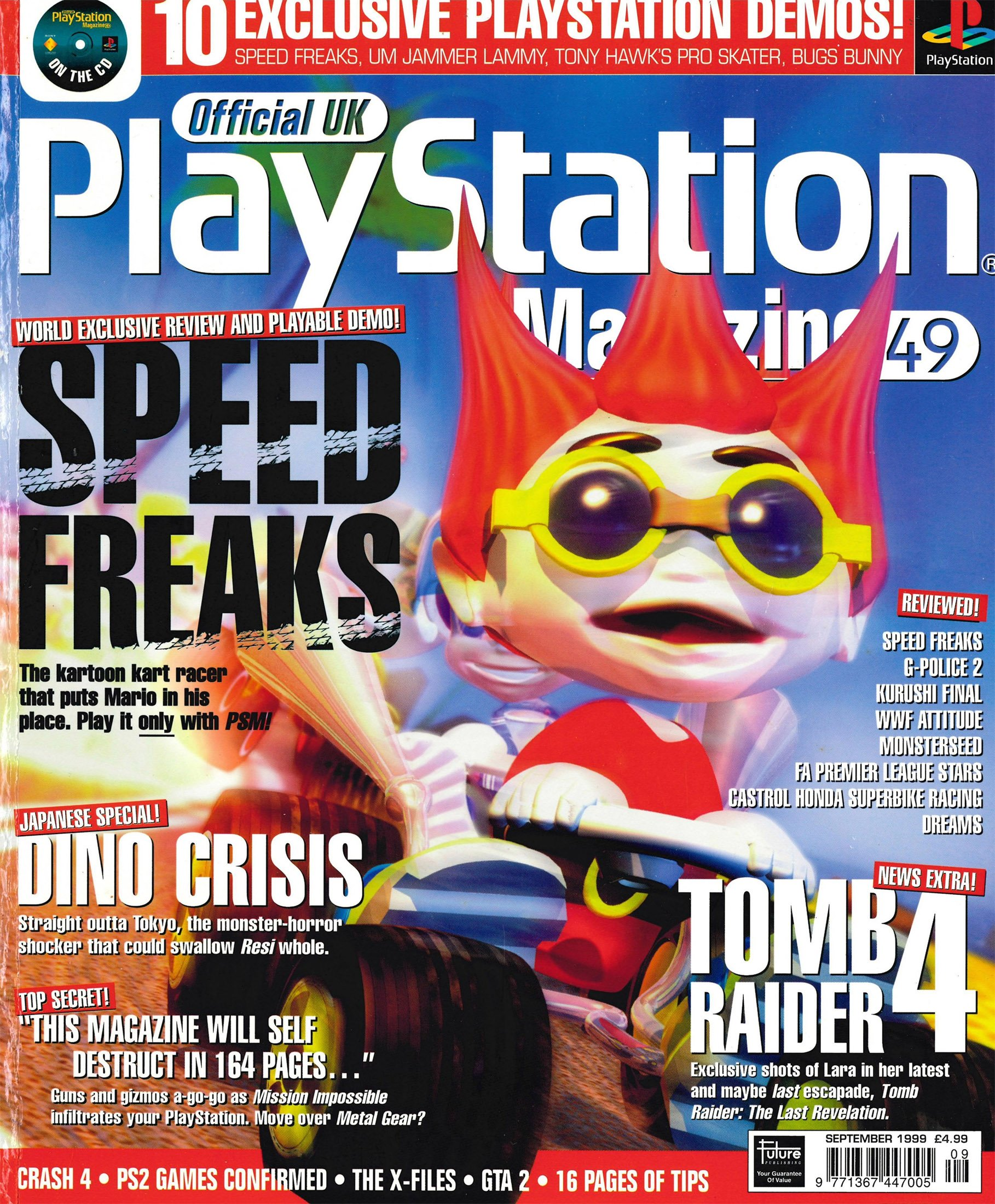 Official UK PlayStation Magazine Issue 049 (September 1999)