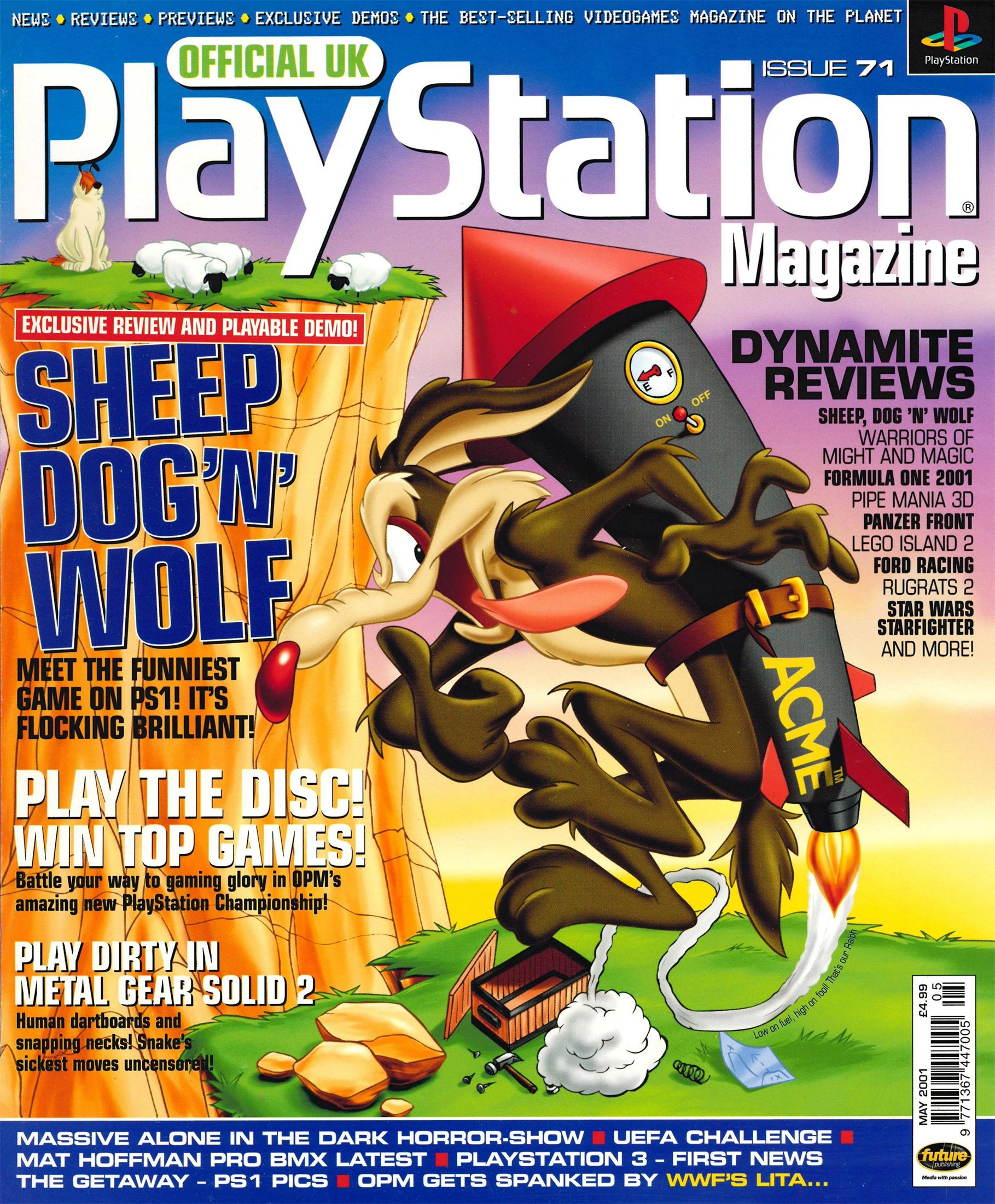 Official UK PlayStation Magazine Issue 071 (May 2001)