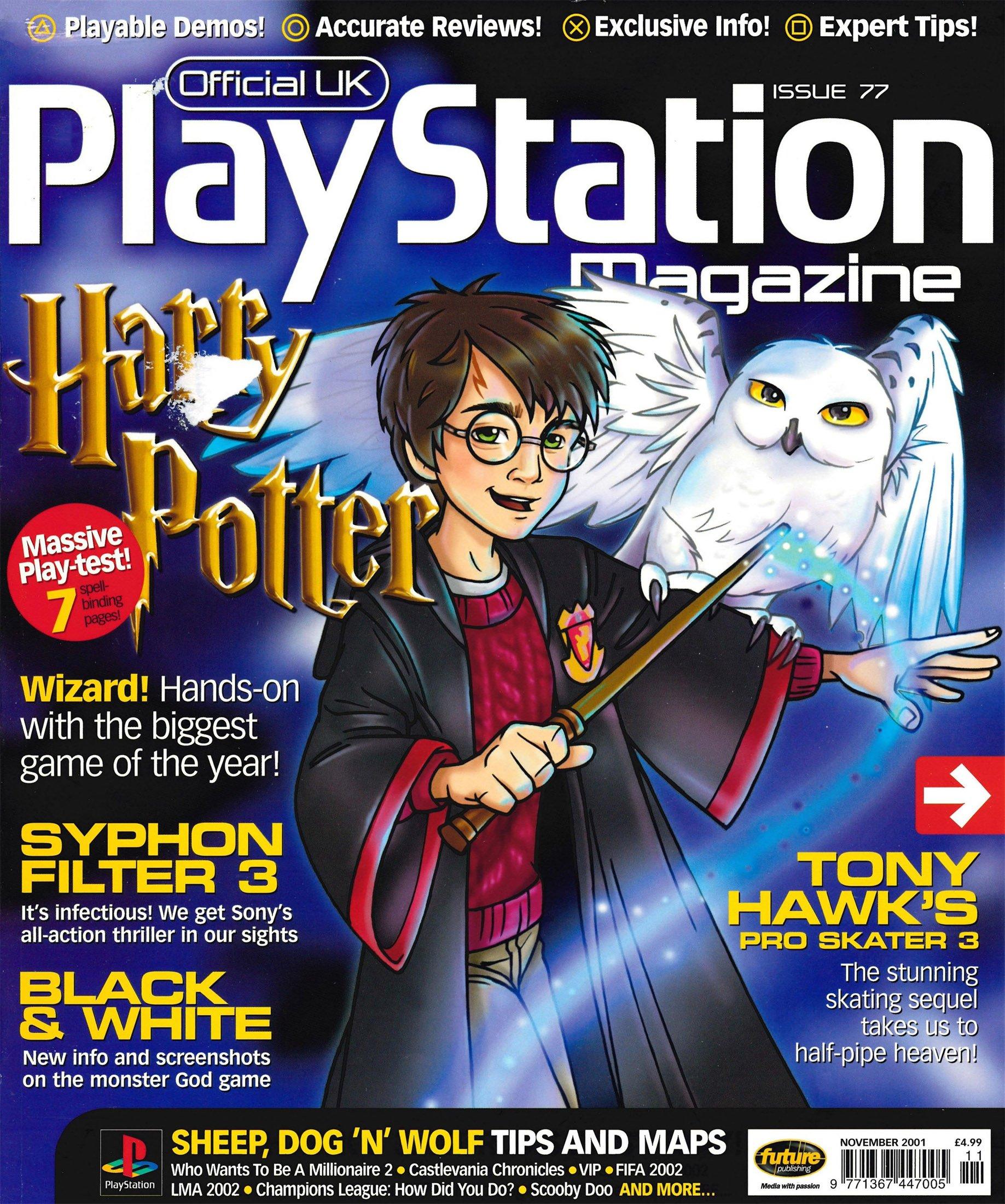Official UK PlayStation Magazine Issue 077 (November 2001)