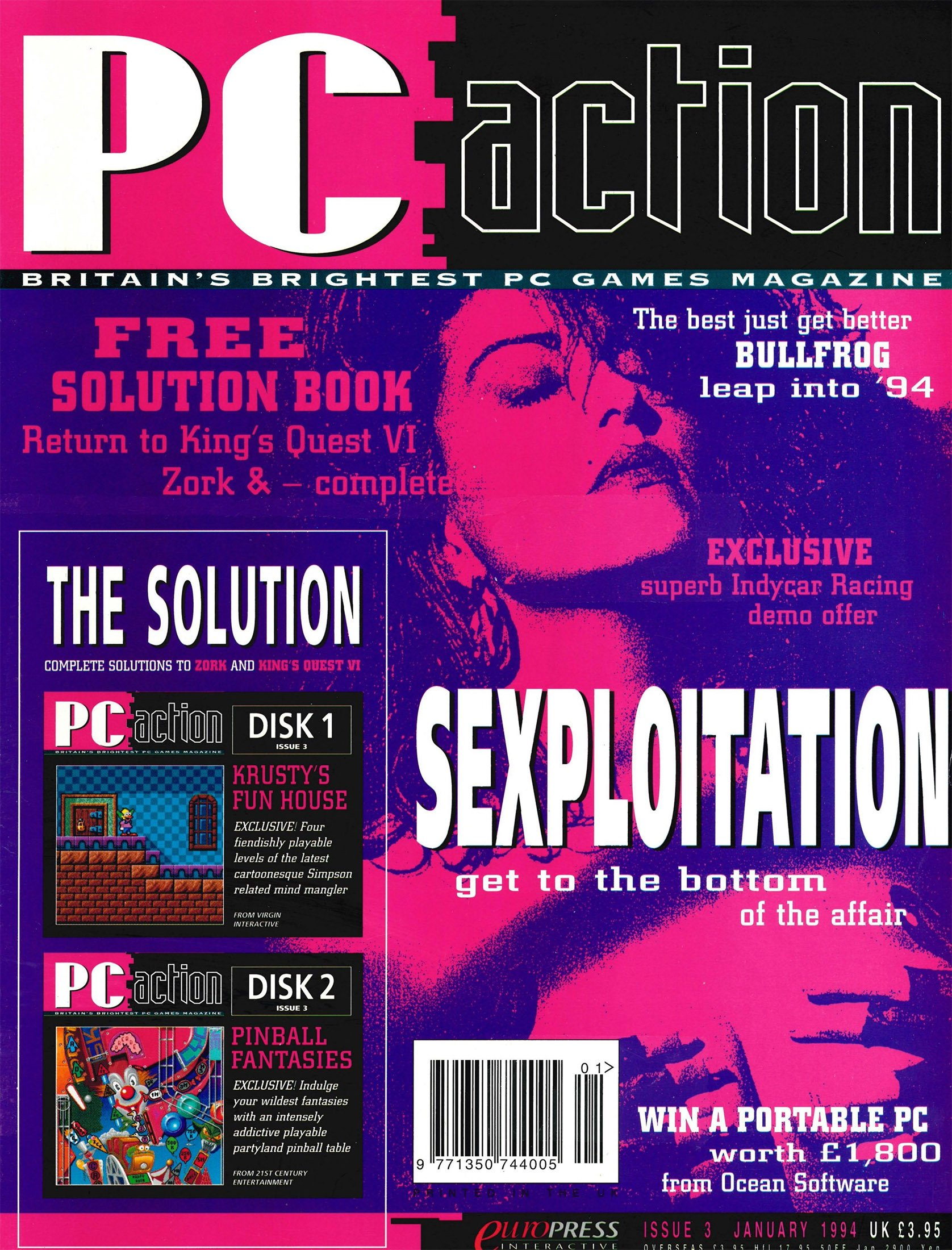 PC Action Issue 03 (January 1994)