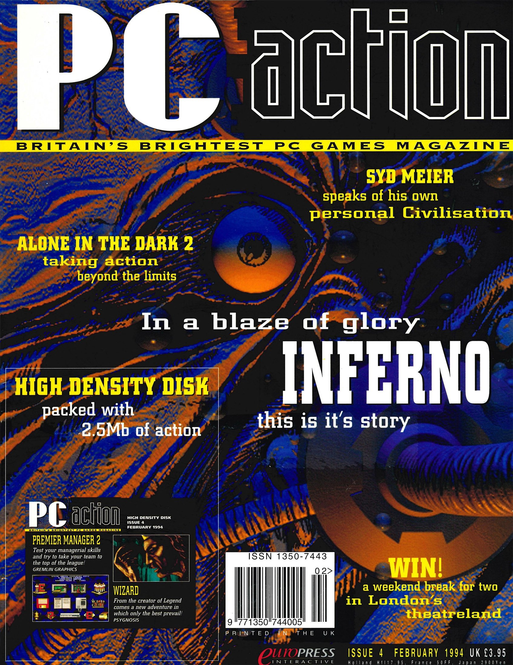 PC Action Issue 04 (February 1994)