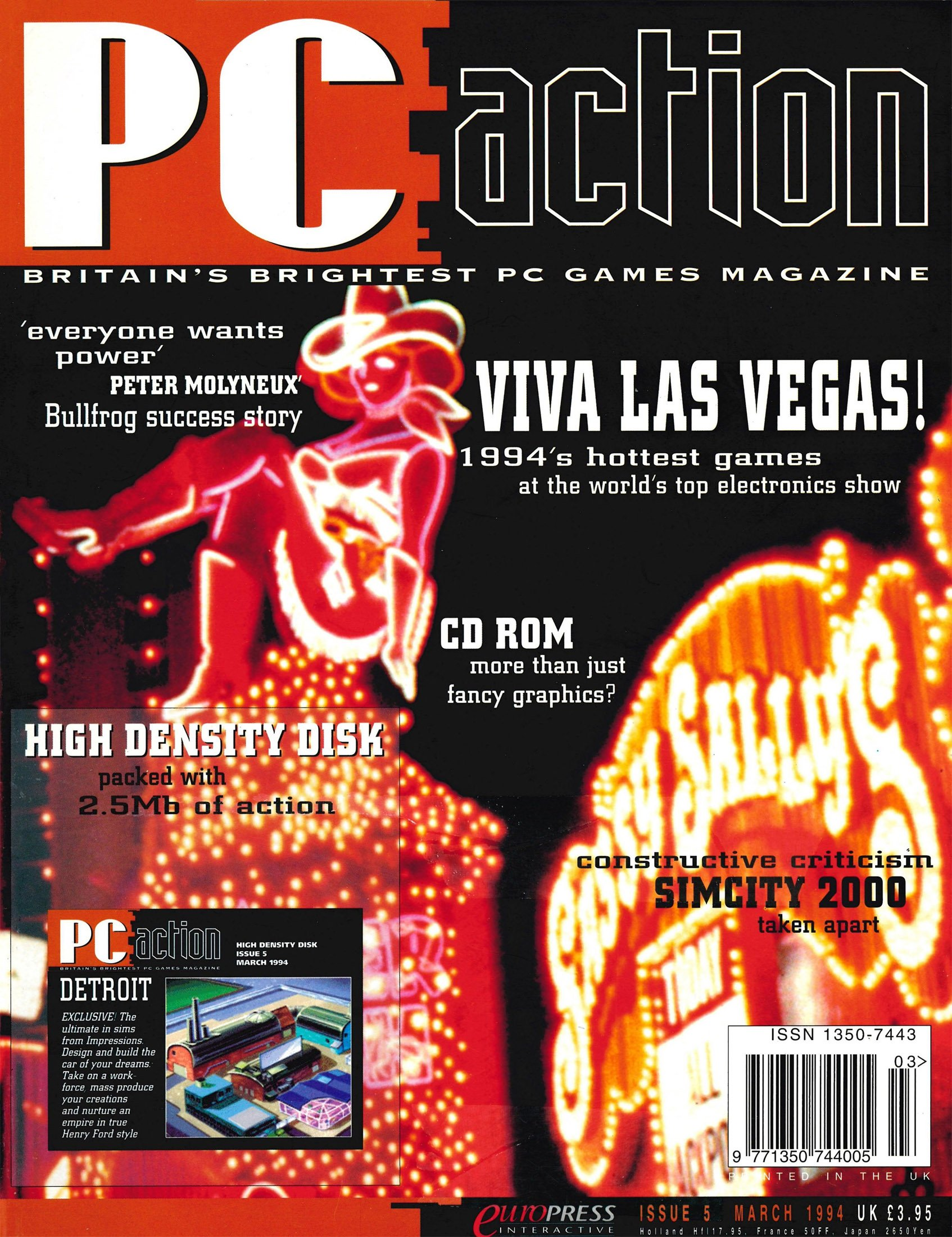 PC Action Issue 05 (March 1994)