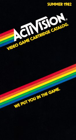 Activision Video Game Cartridge Catalog (Summer 1982)