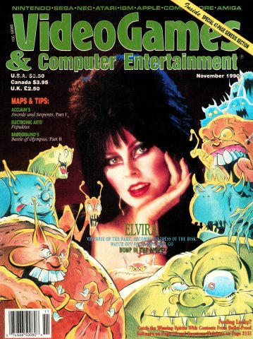 Video Games & Computer Entertainment Issue 22 November 1990