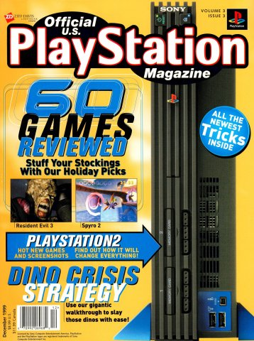 Official U.S. PlayStation Magazine Issue 027 (December 1999)