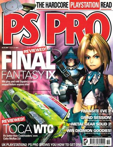 Playstation Pro Issue 51 (September 2000)