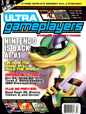 Ultra Game Players Issue 109 (April 1998)