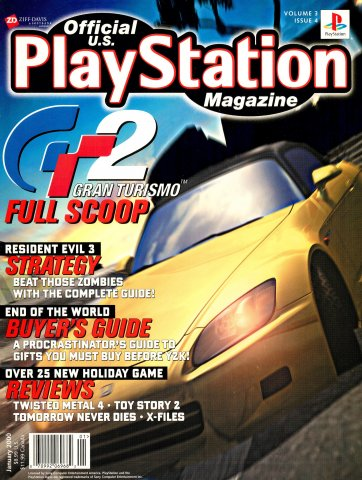 Official U.S. PlayStation Magazine Issue 028 (January 2000)