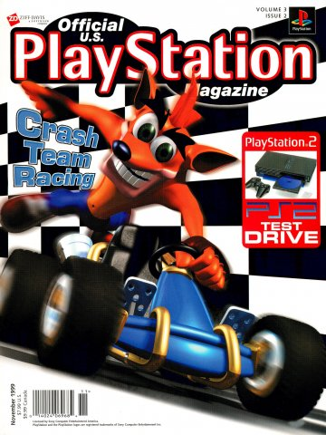 Official U.S. PlayStation Magazine Issue 026 (November 1999)
