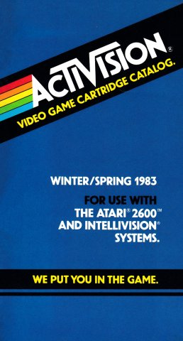 Activision Video Game Cartridge Catalog (Winter-Spring 1983)