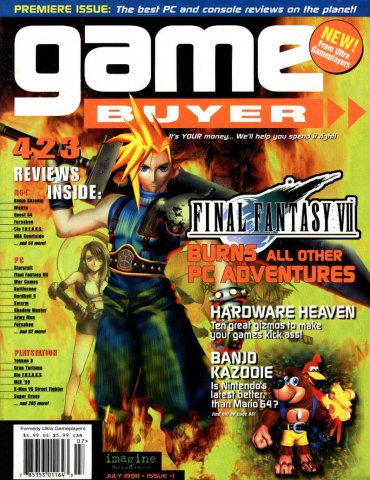 Game Buyer Issue 1 July 1998