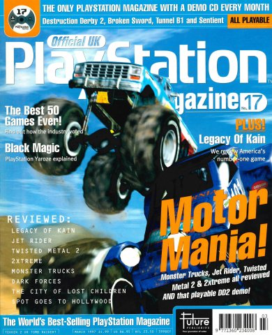 Official UK PlayStation Magazine Issue 017 (March 1997)