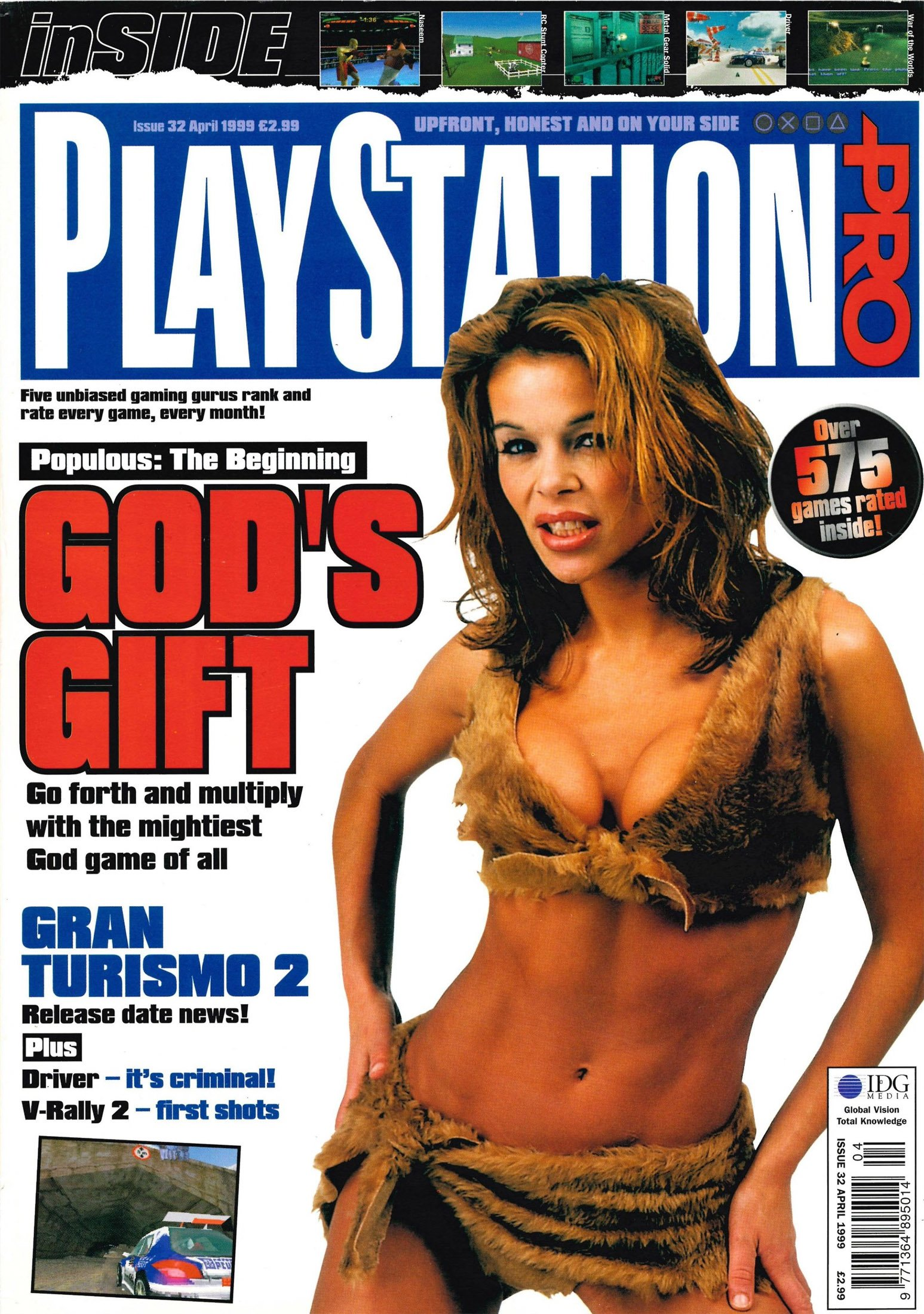 PlayStation Pro Issue 32 (April 1999)