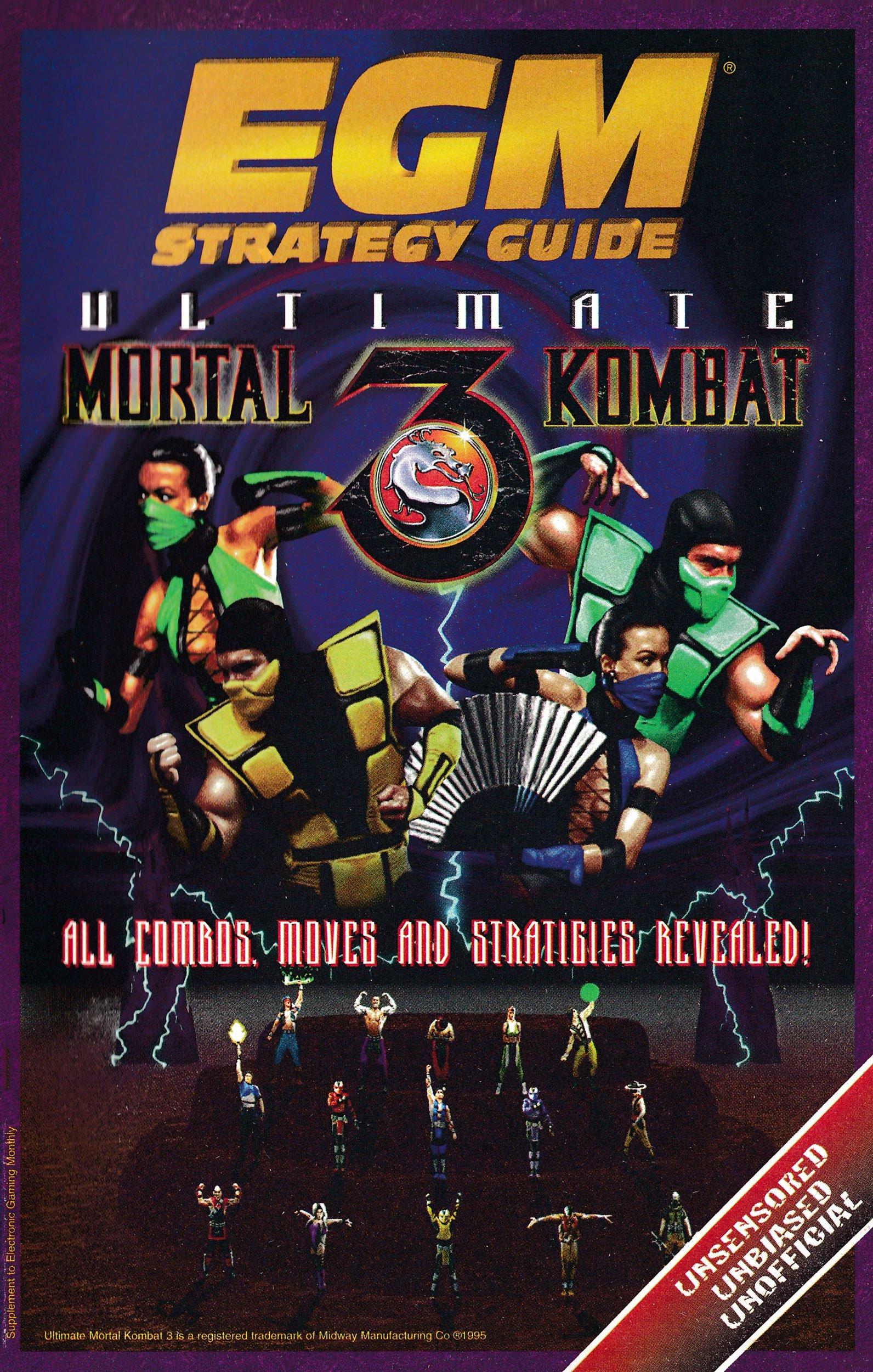 EGM Strategy Guide - Ultimate Mortal Kombat 3