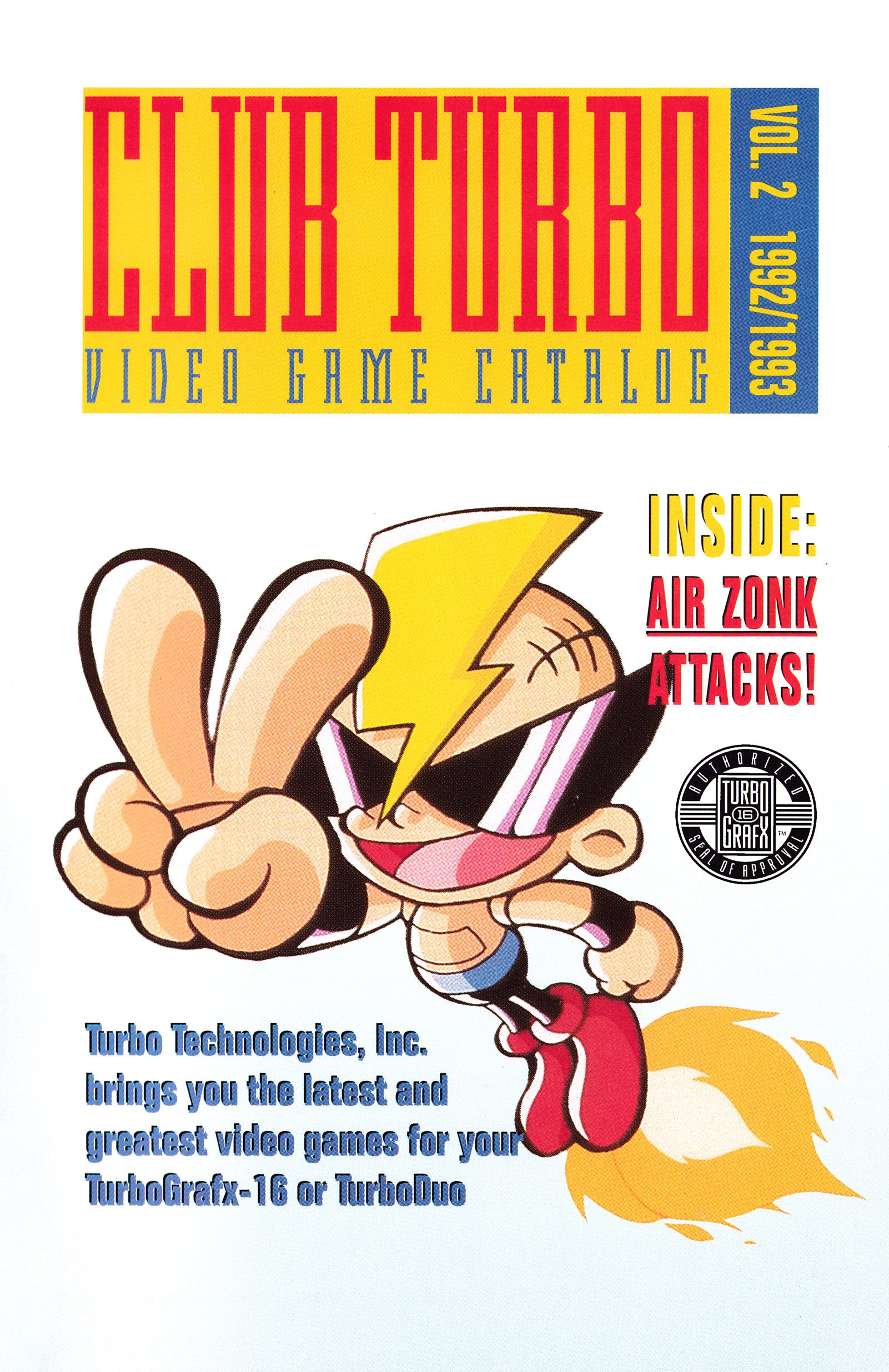 Club Turbo Catalog of Games Volume 2 (1992-1993)