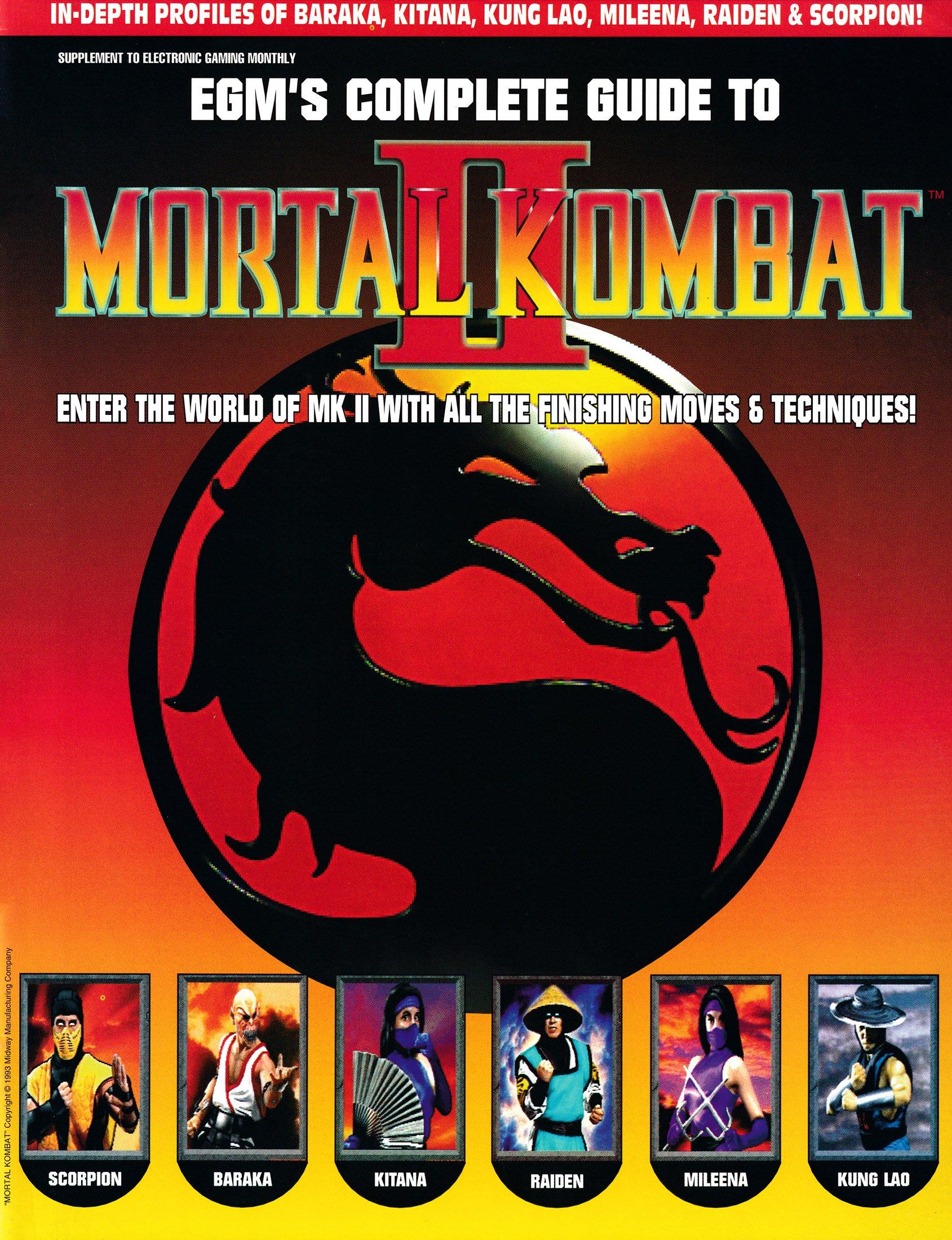EGM's Complete Guide to Mortal Kombat II