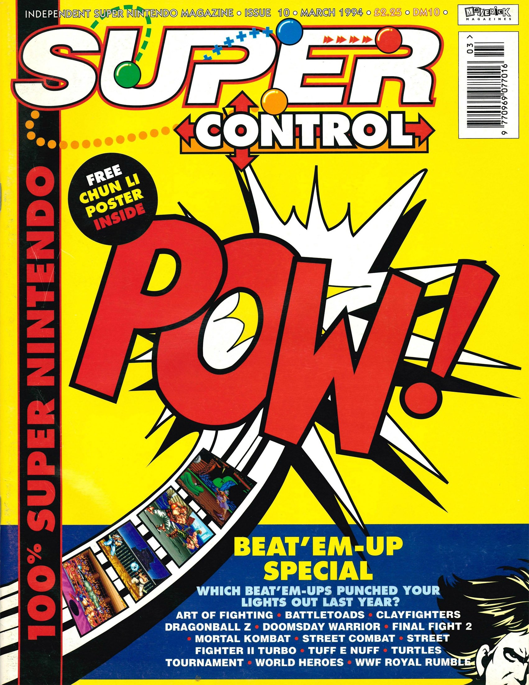 Super Control Issue 10 (March 1994)